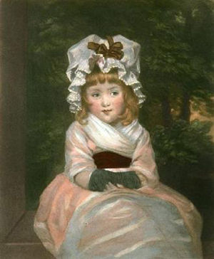Sir Brooke Boothby, 6th Baronet - Penelope Boothby, aged 4, by Sir Joshua Reynolds