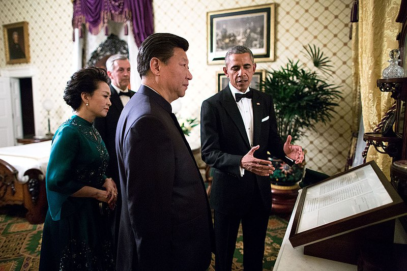 File:Peng Liyuan, Xi Jinping and Barack Obama in the Lincoln Bedroom.jpg