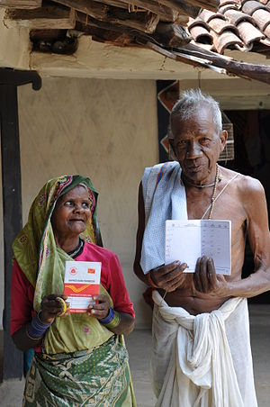 National Social Assistance Scheme - Old Age Pensioners in Sarguja district of Chhattisgarh