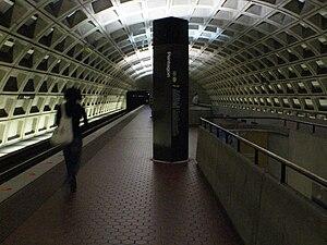 Pentagon station - Image: Pentagon Metro Station