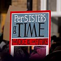 Per-SISTERs it is time -WomensMarch -WomensMarch2018 -SenecaFalls -NY (28029070559).jpg