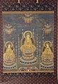 Periodo edo, buddha amida tra i bodhisattva kannon e seishi, xviii secolo 02.jpg