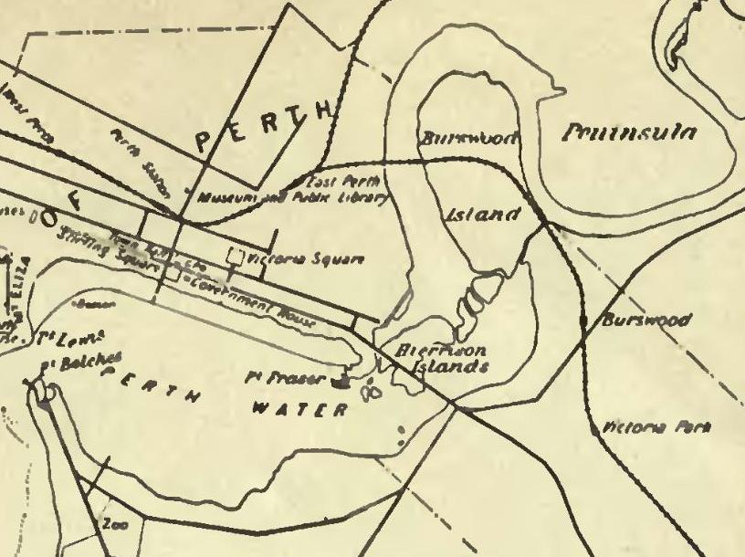 Perth Water c.1909