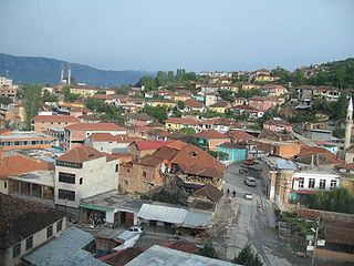 Peshkopi Municipal unit in Dibër, Albania