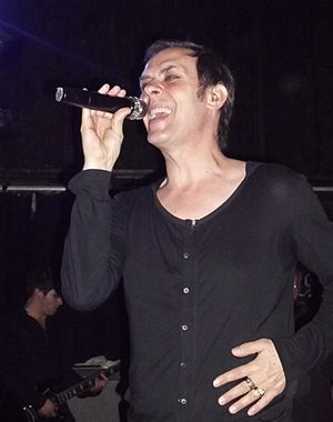 Peter Murphy (musician) - Murphy performing in 2011.