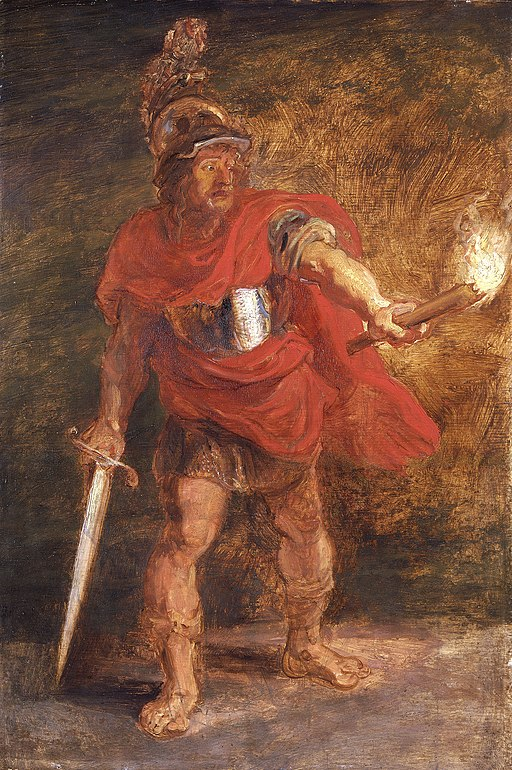 Peter Paul Rubens - Aeneas in the Underworld