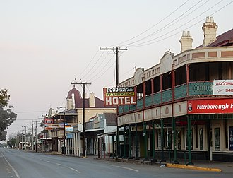 Peterborough, South Australia - Main street of Peterborough