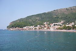 Coastline of Petrovac