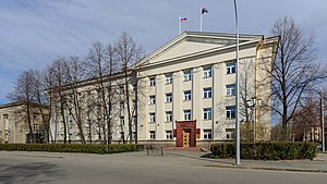 Republic of Karelia - Seat of the Legislative Assembly of Karelia