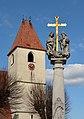 Pfarrkirche Unteraspang Dreifaltigkeitssaeule DSC 6935w.jpg