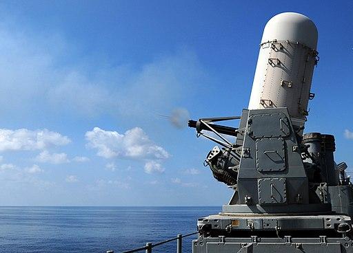 Phalanx CIWS test fire - 081107-N-5416W-003