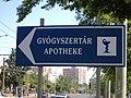 Pharmacy sign Szeged.JPG