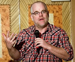 Philip Seymour Hoffman on screen and stage