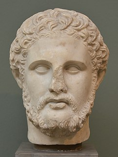 Philip II of Macedon Macedonian monarch