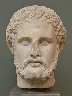 Phillip II, king of Macedonia, Roman copy of Greek original, Ny Carlsberg Glyptotek, Copenhagen (36420294055).jpg