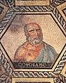 Philosophenmosaik köln Sophokles von Athen.jpg