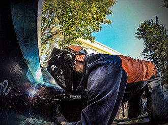 "Gas metal arc welding - Gas Metal Arc Welding ""Mig"" Welding"