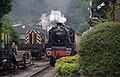 Pickering MMB 13 North Yorkshire Moors Railway (Newbridge level crossing) 45407.jpg