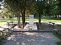 Picture made by mobile Skopje. R of Macedonia , Скопје-Скопље Р.Македонија ( споменик на Кузман Јосифовски - ПИТУ ) - panoramio.jpg