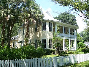 National Register of Historic Places listings in Sumter County, Florida - Image: Pierce house bushnell