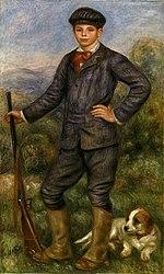 Auguste Renoir: Jean en chasseur