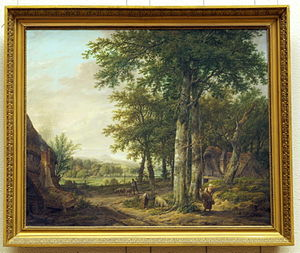 Pieter Pietersz Barbiers - Pastoral landscape with figures, 1819, collection Teylers Museum