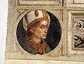 Pietro Perugino, ultima cena, 1493-96, cornice 04.JPG
