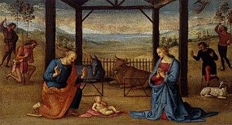 Annunziata Polyptych - Image: Pietro Perugino cat 73a