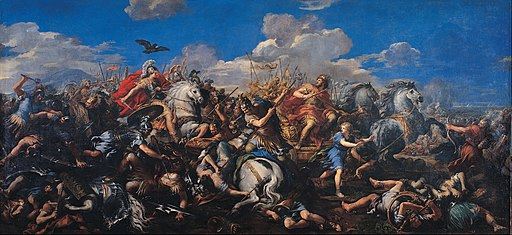 Pietro da Cortona - Battle of Alexander versus Darius - Google Art Project
