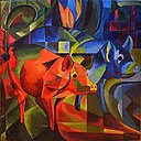 Pigs by Franz Marc (1913).jpg