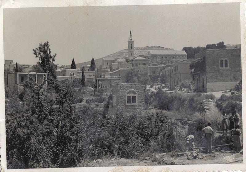 עין כרם, ירושלים, מאי 1949