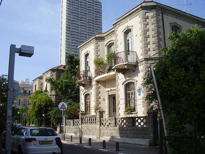 File:PikiWiki Israel 8341 twin houses in neve- zedek.jpg