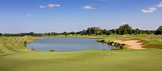 Pilar, Buenos Aires - Partial view of the Pilar Golf course.