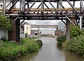 Pipe bridges north of Rudheath, Cheshire - geograph.org.uk - 2720720.jpg