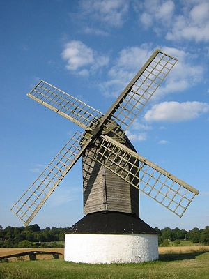 Pitstone Windmill, a 17th Century post mill