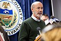 Pittsburgh synagogue shooting Governor Wolf Gives Remarks Regarding Pittsburgh Shooting and Participates in Vigil (30650981947).jpg