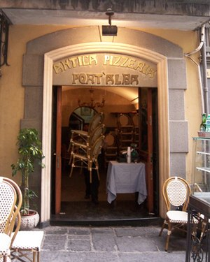 History of pizza - Antica Pizzeria Port'Alba in Naples