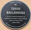 Placa Memoria Historica Can Sisteré Santa Coloma de Gramenet.jpg