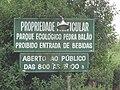 Placas indicam local do Parque Ecológico. - panoramio.jpg