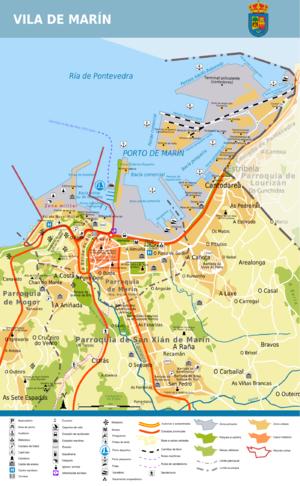O Morrazo - Image: Plano de Marín