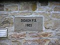 Plaque, Doagh P.S. - geograph.org.uk - 1166571.jpg