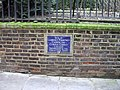 Plaque 'Site of Laurence Pountney Church' - geograph.org.uk - 1171906.jpg