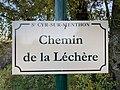Plaque Chemin Léchère - Saint-Cyr-sur-Menthon (FR01) - 2020-10-31 - 1.jpg