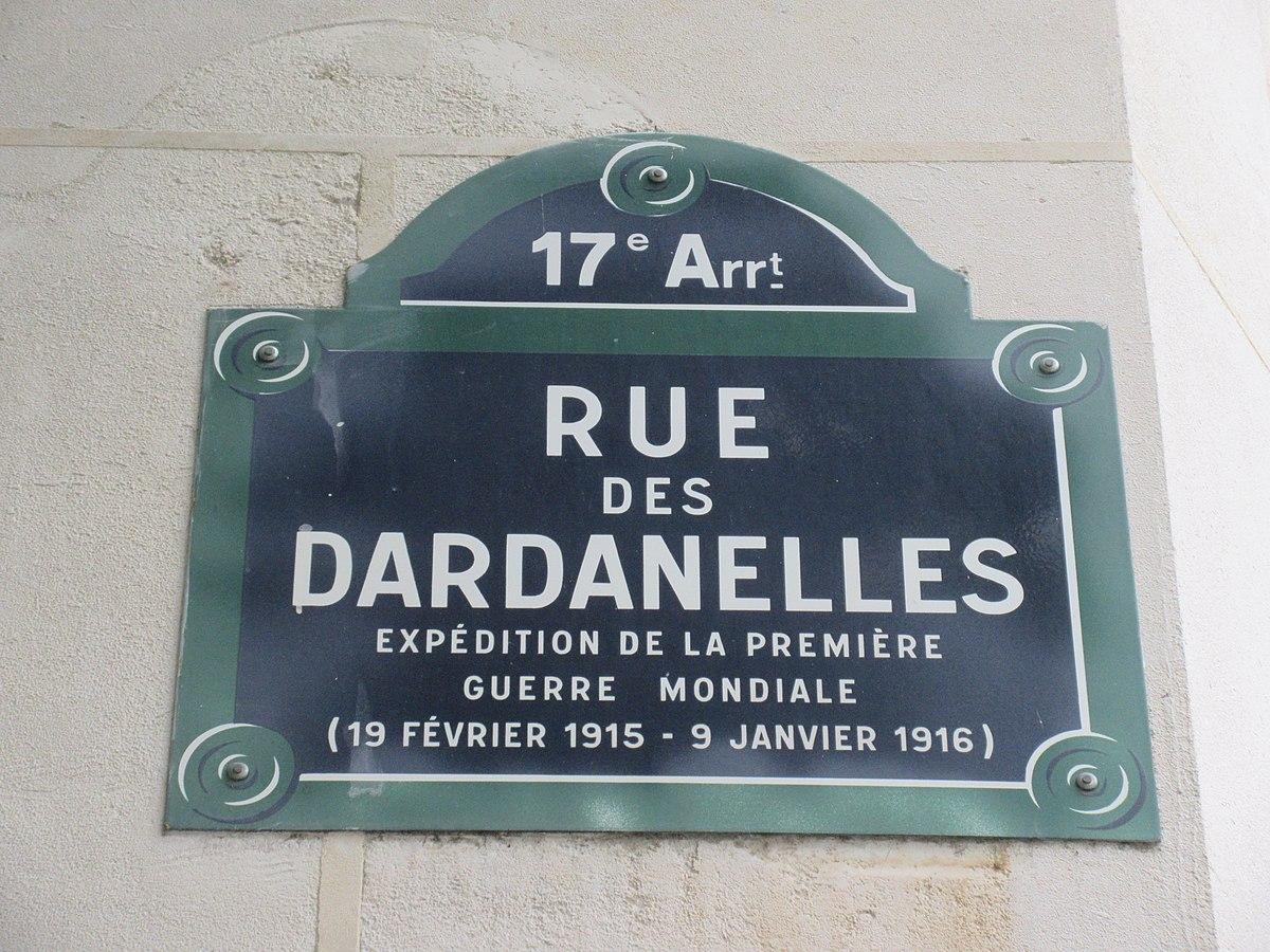 Image illustrative de l'article Rue des Dardanelles