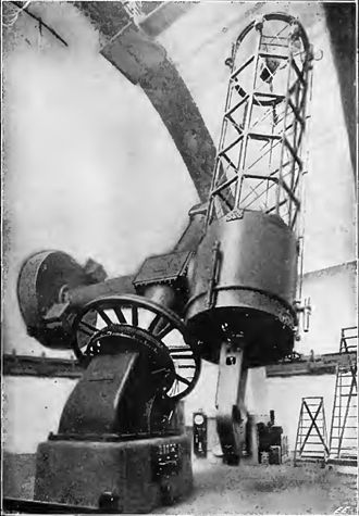 Dominion Astrophysical Observatory - The Plaskett telescope in 1920
