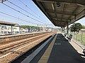 Platform of Nishi-Takaya Station 1.jpg