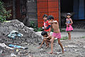 Playful Children - Barrackpore Trunk Road - Khardaha - North 24 Parganas 2012-04-11 9492.JPG