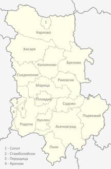 Regione di Plovdiv