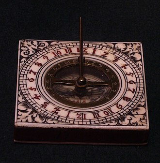 24-hour analog dial -  A sundial showing all 24 hours; impractical but symmetrical