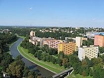 Pohled na Ostravu z Nové radnice, srpen 2011, 4.jpg